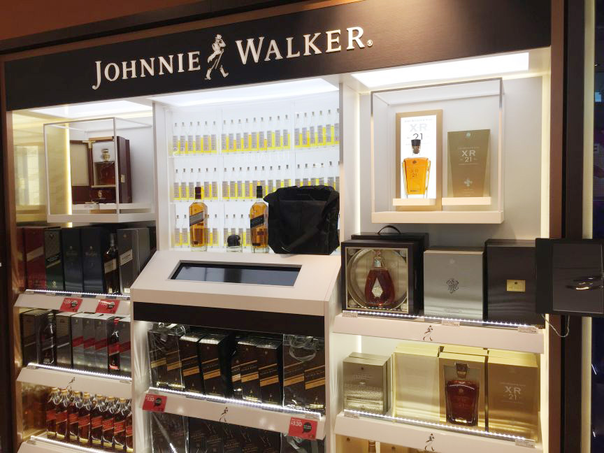Johnnie Walker International Duty Free 1