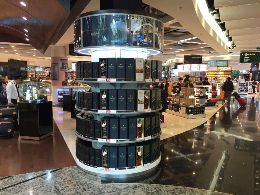 Johnnie Walker International Duty Free 2