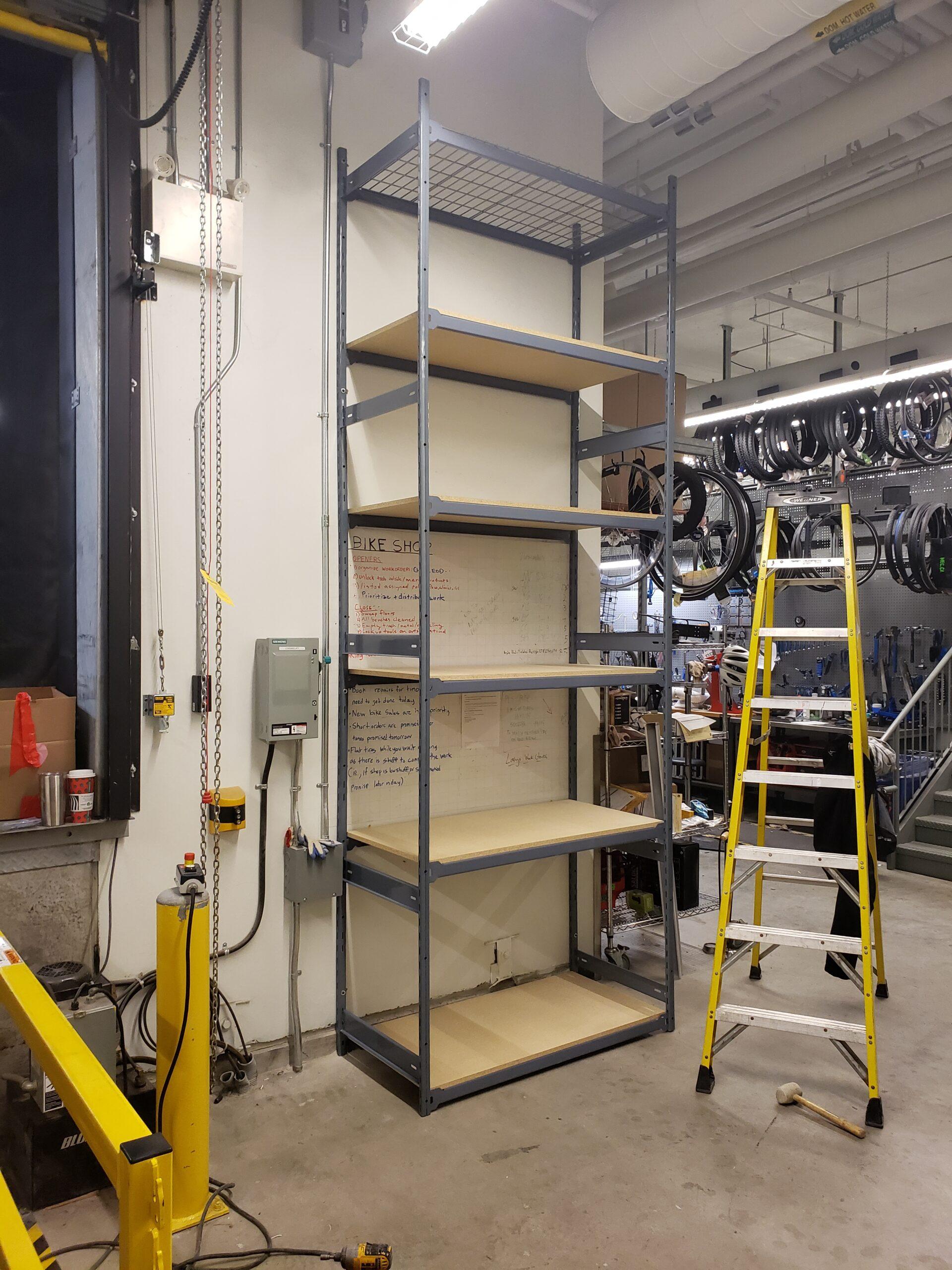 MEC Loading Dock Storage