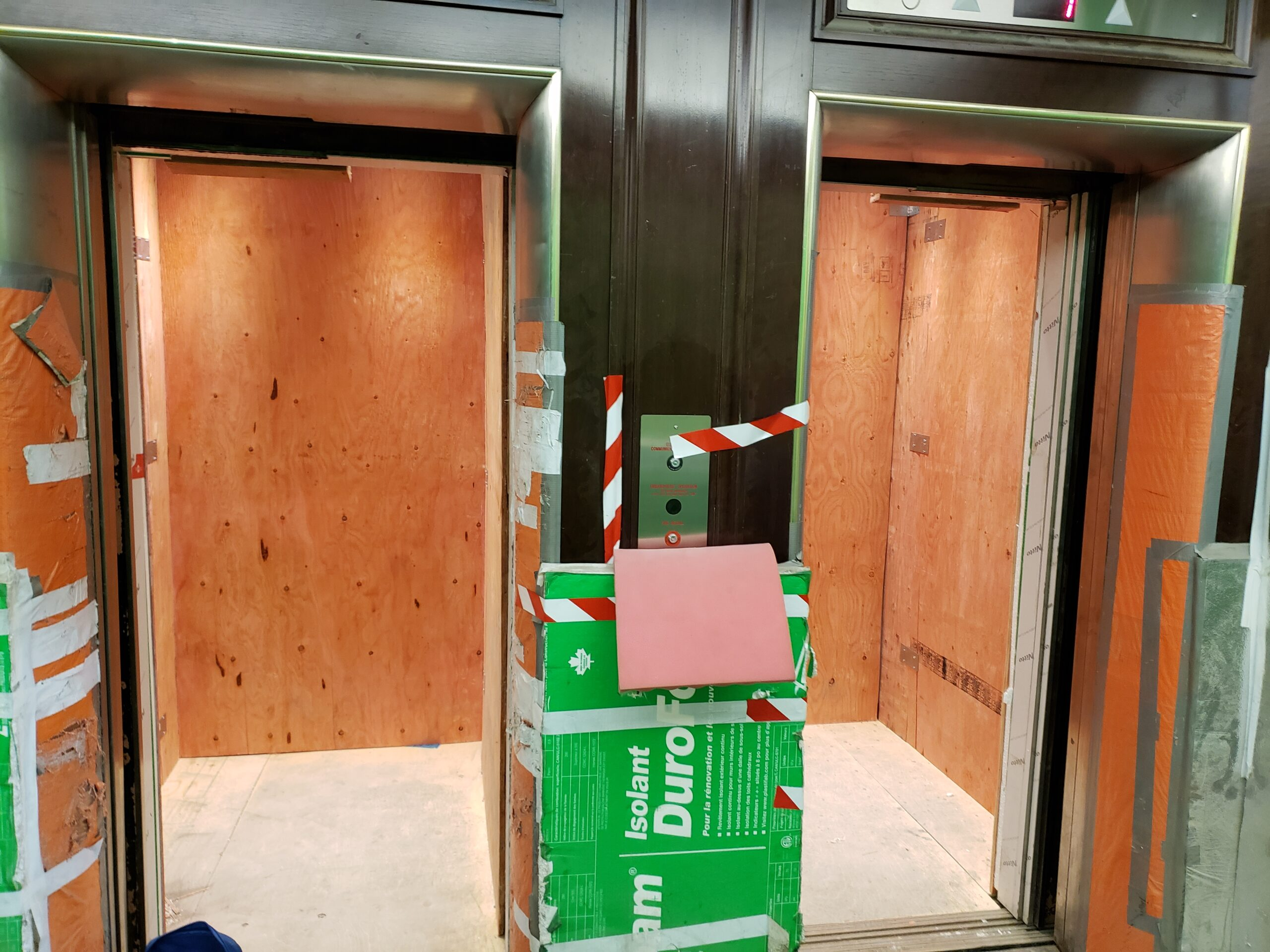 357 ELEVATOR PROTECTION AFTER