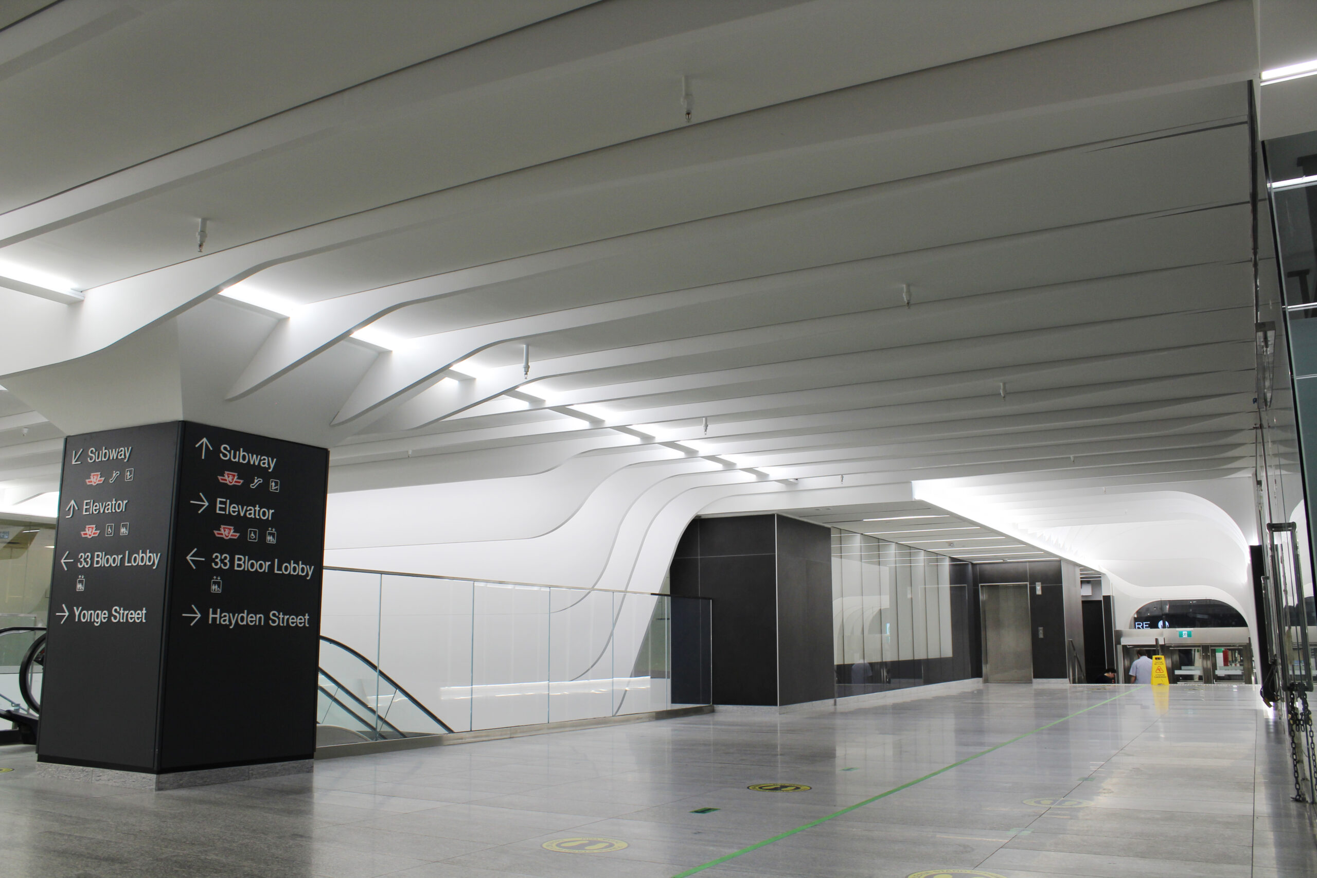 Bloor Yonge Station 7