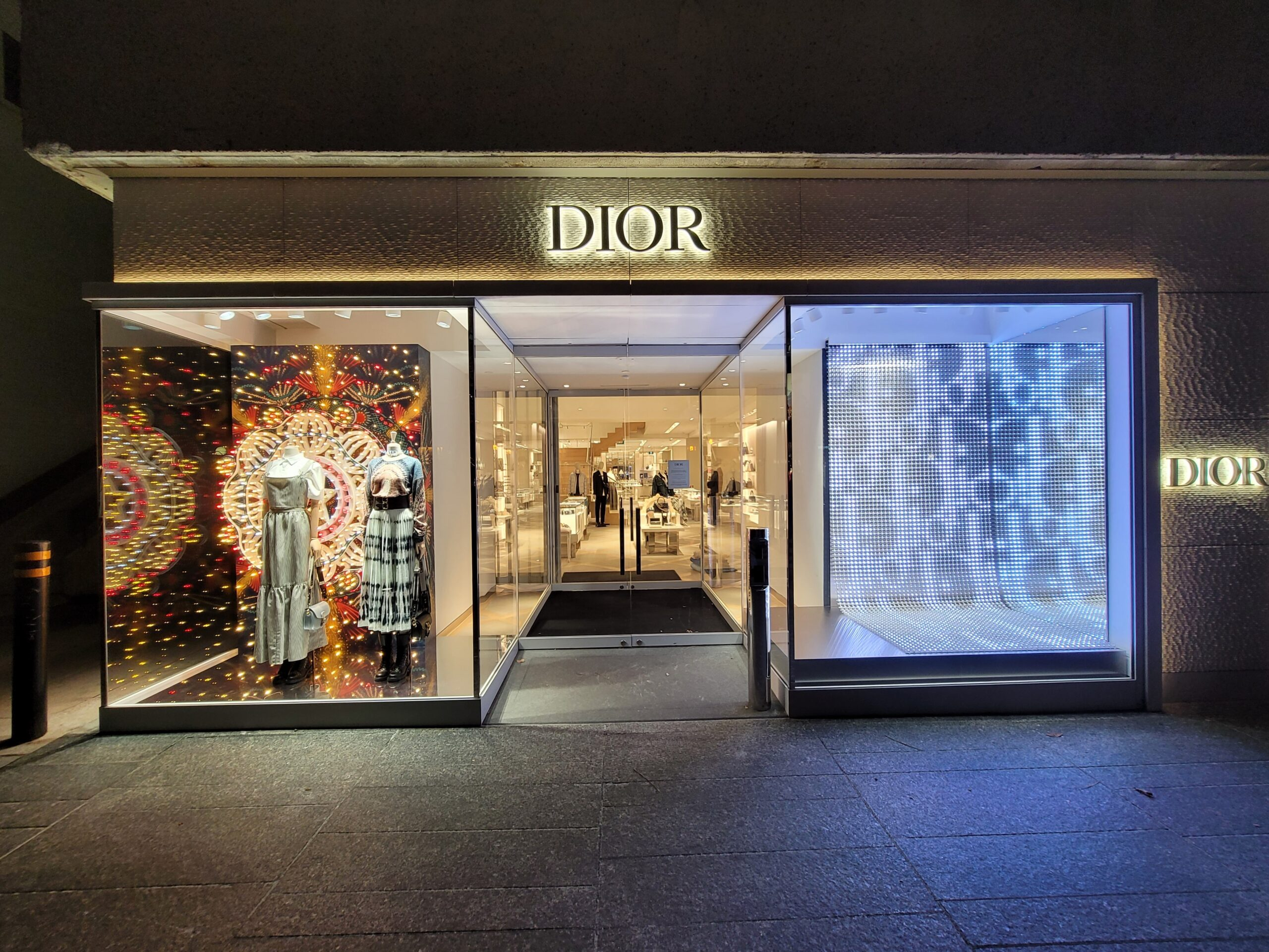 Christian Dior Holiday Display – Colonnade Toronto