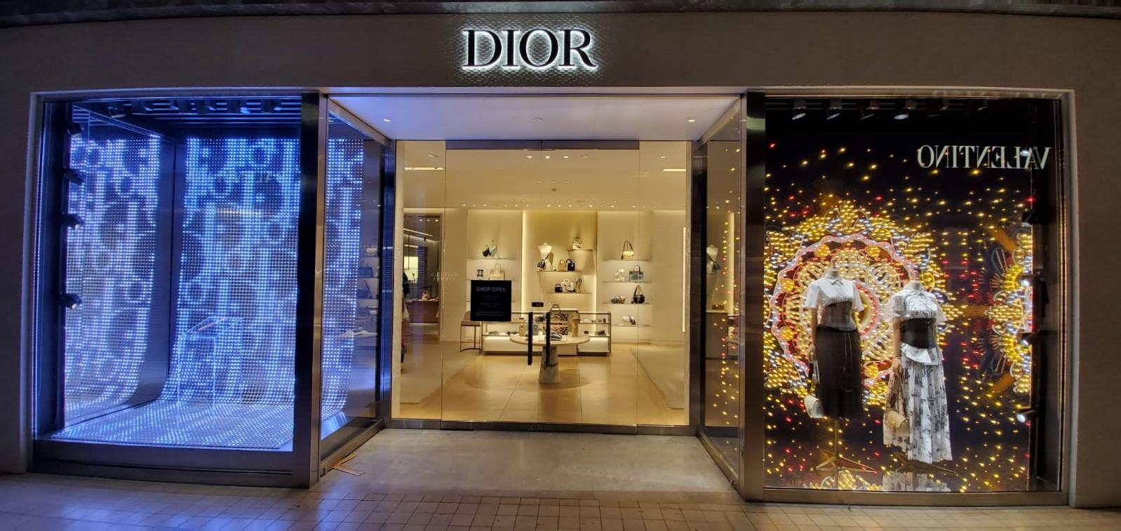 Christian Dior Holiday Display – Yorkdale Mall Toronto