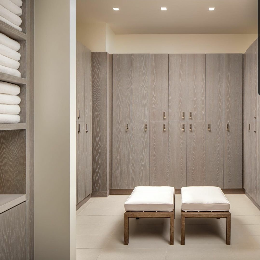 St Regis Hotel Spa Locker Room – Toronto